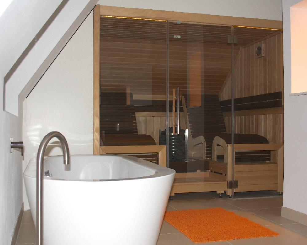 Sauna Im Badezimmer - Www.sauna-stegmann.de Bad Sauna Planen Beachten